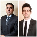 Rodrigo Seizo Takano e Murilo Caldeira Germiniani