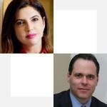 Luciana Freire e Eduardo Pastore