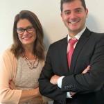 Denise Alvarenga e Georges Minassian