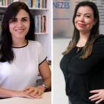 Cíntia Fernandes e Raquel de Castilho